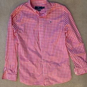 Vineyard Vines Gingham Button-Down